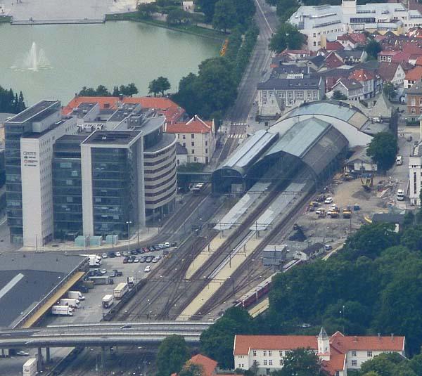 Bergen Railway Station, Norway