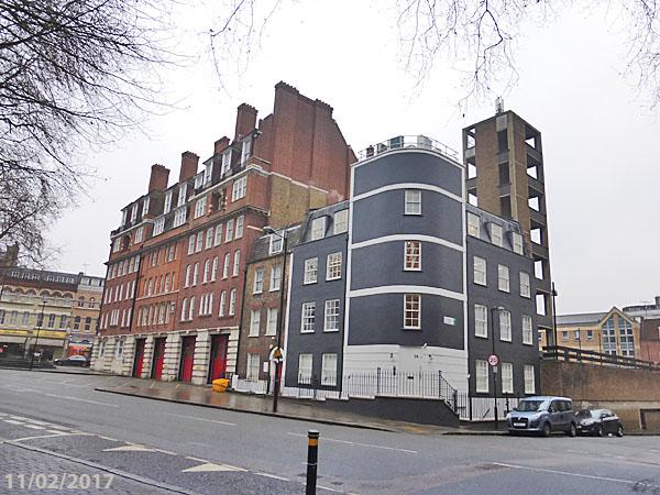 Clerkenwell Fire Station London