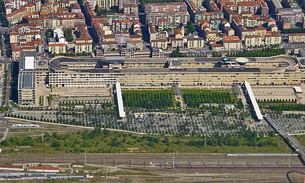 Fiat Lingotto Building Torino Italy