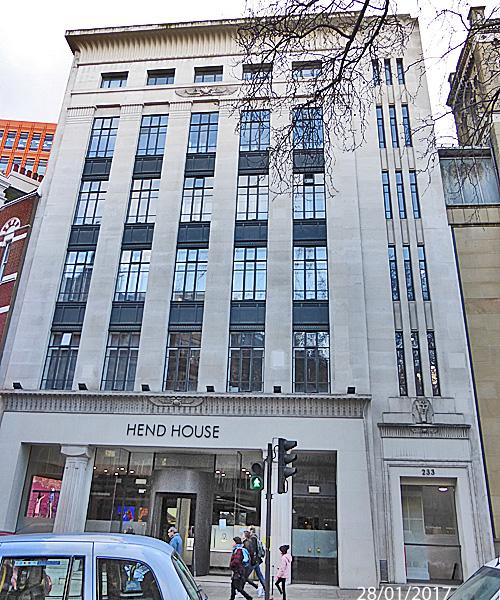 Hend House, London