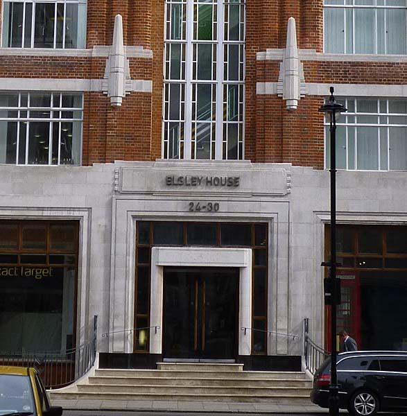 Elsley House Westminster London