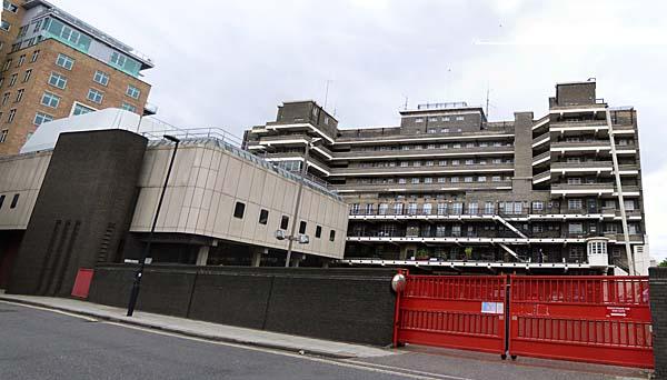 Fire Brigade Headquarters Albert Embankment Lambeth London