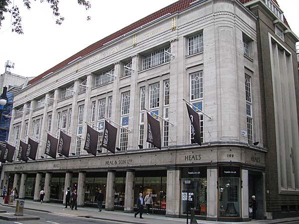 Heals Building London
