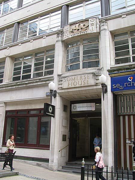Somerset House Temple Street