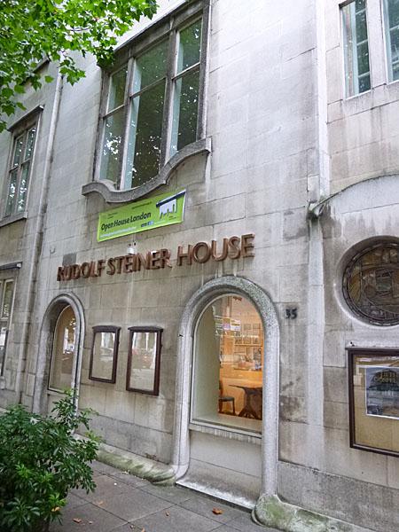 rudolf steiner house london. Black Bedroom Furniture Sets. Home Design Ideas
