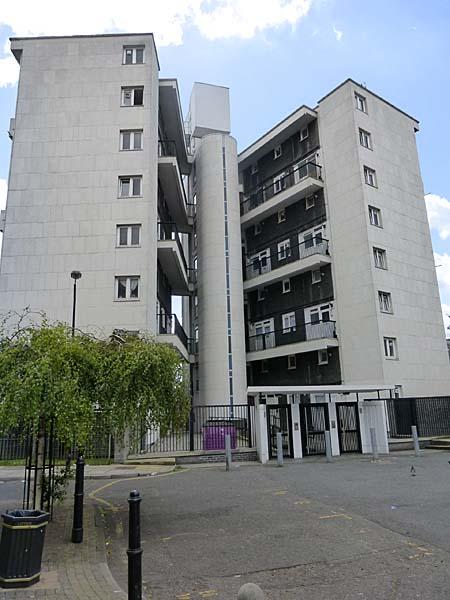 Usk Street Estate London