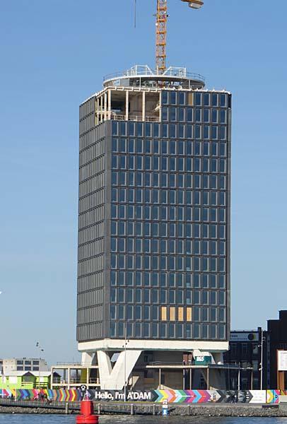 A Dam Tower Amsterdam Holland