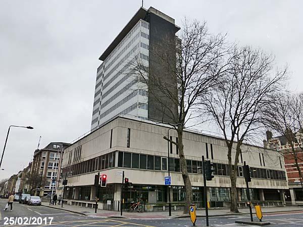 Holborn Police Station London