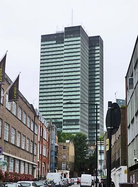 Euston Tower, Euston Road, London