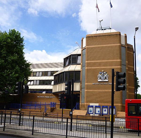 Belgravia Police Station London