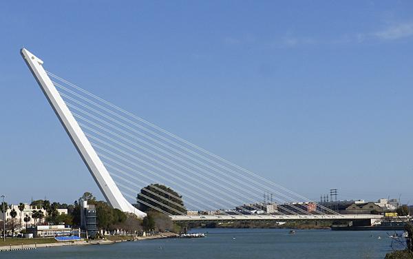 Alamillo Bridge Seville Spain