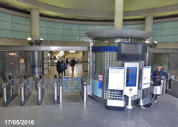 Southwark Underground Station London