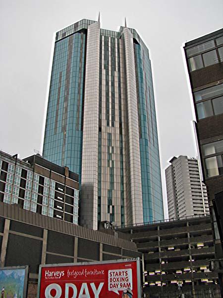 Beetham Tower Radisson Blu Hotel Birmingham Uk