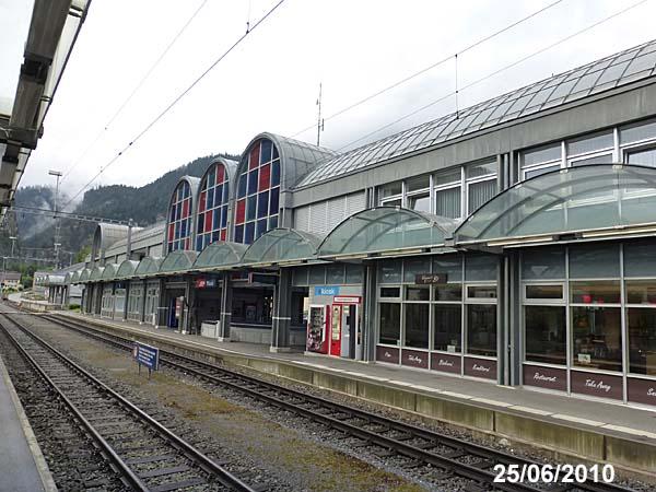 Thusis Railway Station, Switzerland