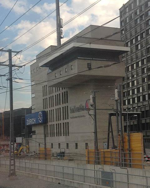 Control centre zurich hauptbahnhof switzerland for Architecture zurich