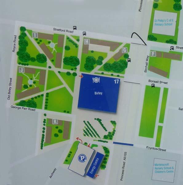 University Of Manchester Campus Map.Birley Fields Campus Manchester Metropolitan University