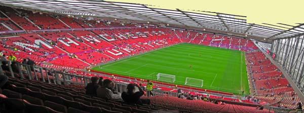 Trafford Ground Old Football