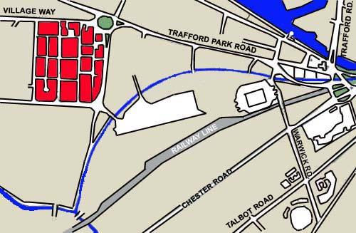 Car Parking At Old Trafford Map